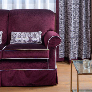 Burgundy red decor fabrics | Tessuti arredo bordeaux