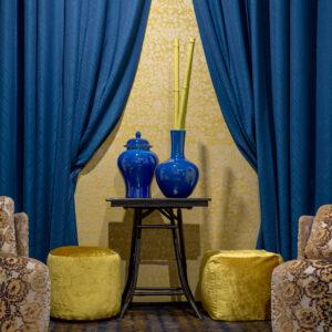 Superior quality curtain and drapery fabrics | Tessuti di alta qualità per tende | Tissus pour rideaux BROCHIER