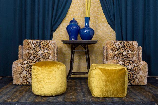BROCHIER velvet upholstery fabric   Tessuto arredo in velluto   Tissu d'ameublement en velours