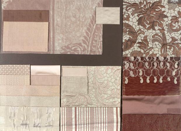 BROCHIER - Interior Design Fabrics - Design Inspiration 001 Argento Bronzo