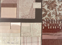 BROCHIER - Home decor textiles - Design Inspiration 001 Argento Bronzo