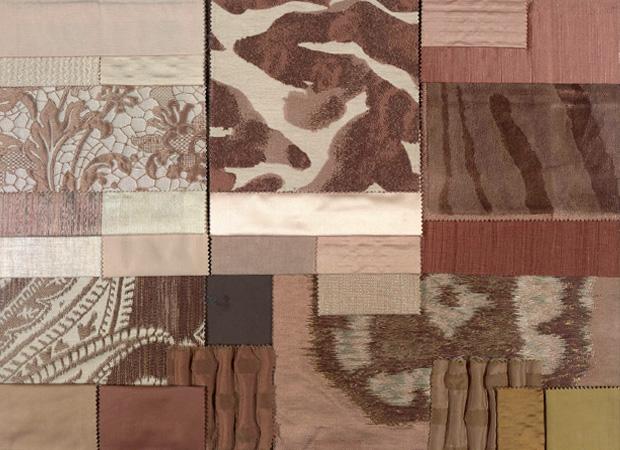 BROCHIER - Interior Design Fabrics - Design Inspiration 002 Avorio Cipria