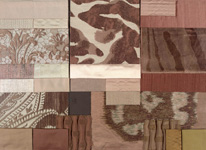 BROCHIER - Home decor textiles - Design Inspiration 002 Avorio Cipria