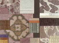 BROCHIER - Home decor textiles - Design Inspiration 004 Argento Mouve