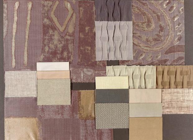 BROCHIER - Interior Design Fabrics - Design Inspiration 005 Argento Azzurrite