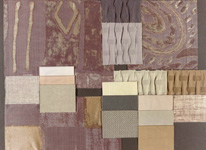 BROCHIER - Home decor textiles - Design Inspiration 005 Argento Azzurrite