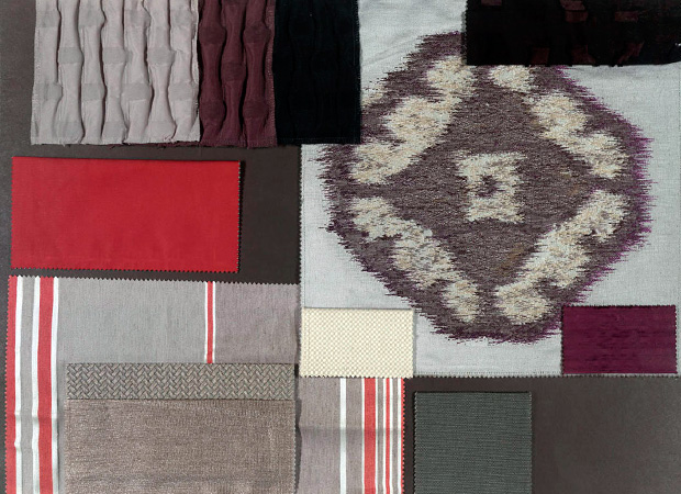 BROCHIER - Interior Design Fabrics - Design Inspiration 006 Grigio Violaceo