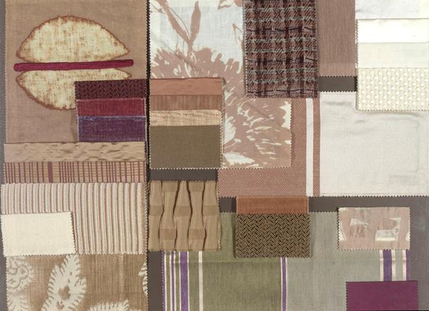 BROCHIER - Interior Design Fabrics - Design Inspiration 007 Nocciola