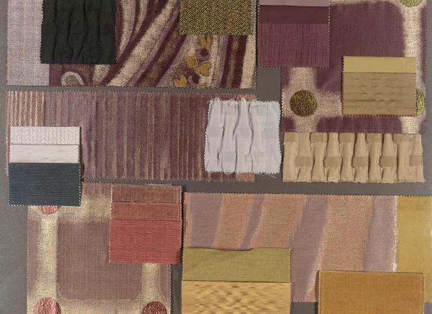 BROCHIER - Interior Design Fabrics - Design Inspiration 009 Grigio Azzurrite