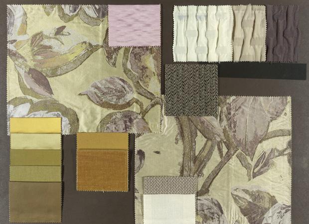 BROCHIER - Interior Design Fabrics - Design Inspiration 010 Avorio Giallo Luce