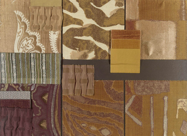 BROCHIER - Interior Design Fabrics - Design Inspiration 012 Oro Grigio