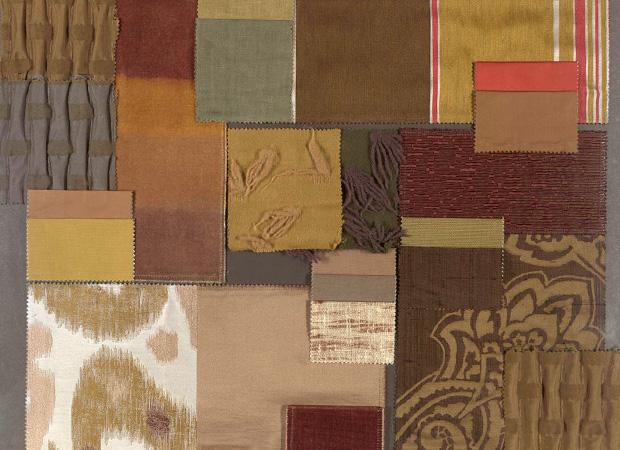 BROCHIER - Interior Design Fabrics - Design Inspiration 013 Verde Militare