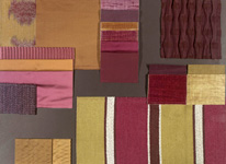 BROCHIER - Home decor textiles - Design Inspiration 015 Oro Viola
