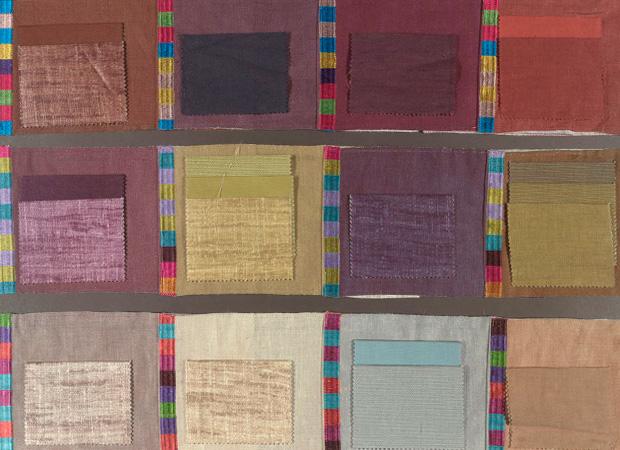 BROCHIER - Interior Design Fabrics - Design Inspiration 017 Riga Multicolor