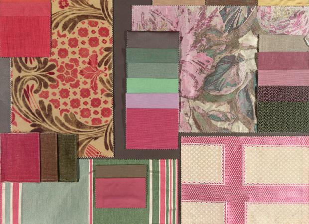 BROCHIER - Interior Design Fabrics - Design Inspiration 021 Fuxia Verde