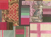 BROCHIER - Home decor textiles - Design Inspiration 021 Fuxia Verde