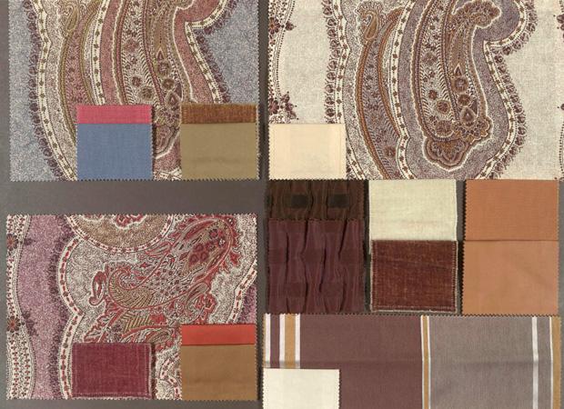 BROCHIER - Interior Design Fabrics - Design Inspiration 022 Cachemire Stampati