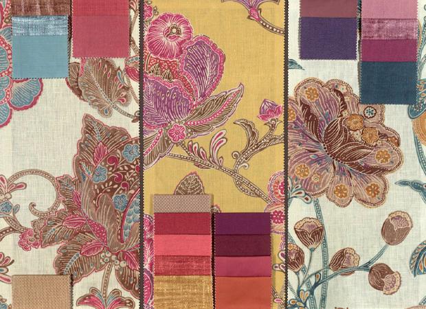 BROCHIER - Interior Design Fabrics - Design Inspiration 023 Floreale Stampato