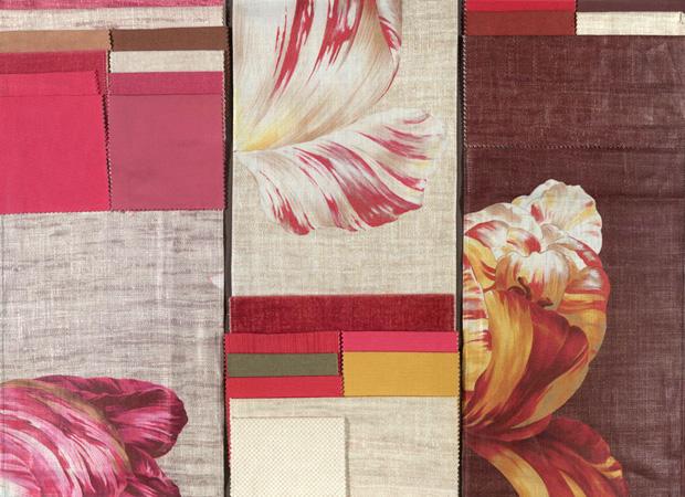 BROCHIER - Interior Design Fabrics - Design Inspiration 024 Tulipani Stampati