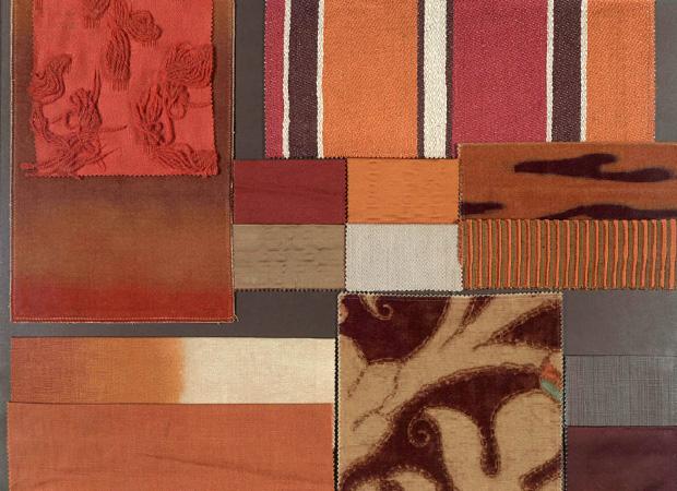 BROCHIER - Interior Design Fabrics - Design Inspiration 027 Arancio