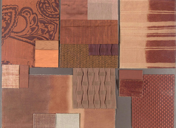 BROCHIER - Interior Design Fabrics - Design Inspiration 028 Cotto