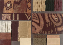 BROCHIER - Home decor textiles - Design Inspiration 029 Beige Marrone