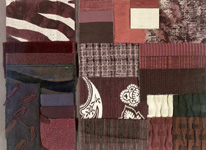 BROCHIER - Home decor textiles - Design Inspiration 031 Marrone Scuro Neri