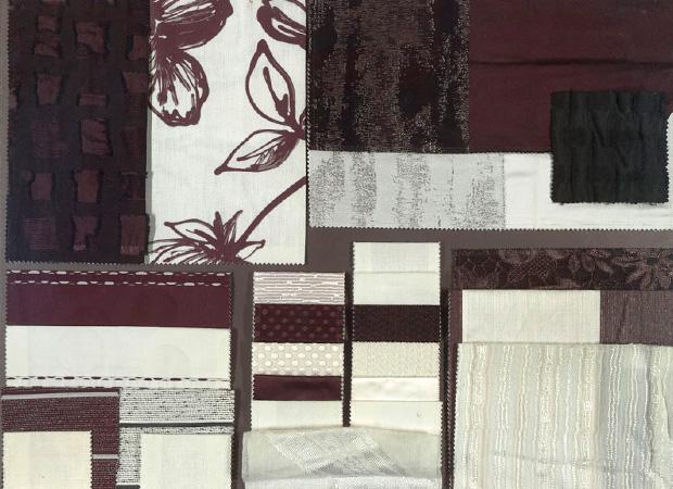BROCHIER - Interior Design Fabrics - Design Inspiration 032 Bianco Nero