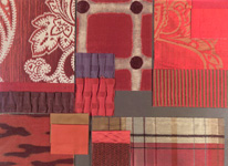 BROCHIER - Home decor textiles - Design Inspiration 033 Rosso