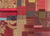 BROCHIER - Home decor textiles - Design Inspiration 034 Bordeaux