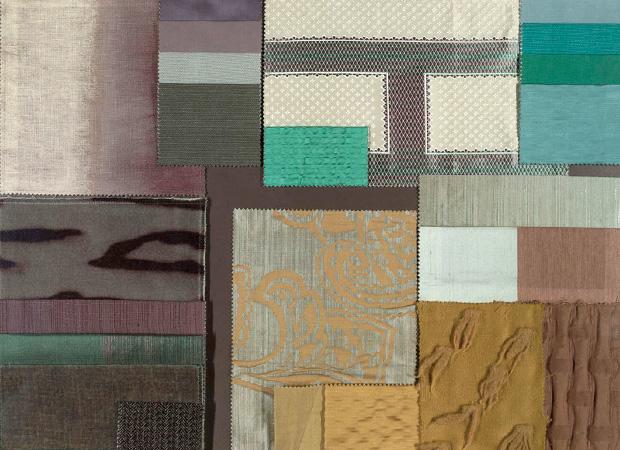 BROCHIER - Interior Design Fabrics - Design Inspiration 035 Azzurro Verde Acqua