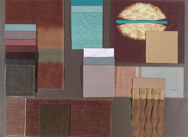 BROCHIER - Interior Design Fabrics - Design Inspiration 036 Azzurro Blu