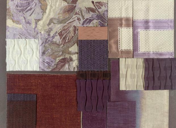 BROCHIER - Interior Design Fabrics - Design Inspiration 037 Indaco