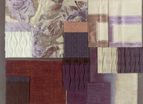 BROCHIER - Home decor textiles - Design Inspiration 037 Indaco