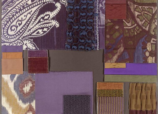 BROCHIER - Interior Design Fabrics - Design Inspiration 038 Cobalto Notte