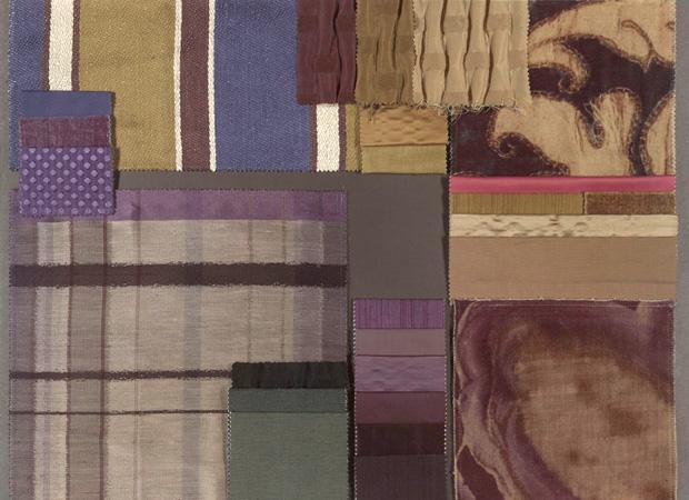 BROCHIER - Interior Design Fabrics - Design Inspiration 039 Cobalto Notte