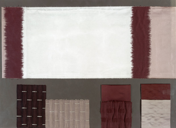 BROCHIER - Interior Design Fabrics - Design Inspiration 048 Avorio Marrone
