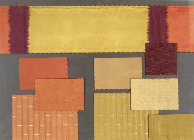 BROCHIER - Interior Design Fabrics - Design Inspiration 049 Giallo Arancio