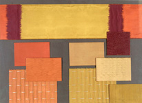 BROCHIER - Home decor textiles - Design Inspiration 049 Giallo Arancio
