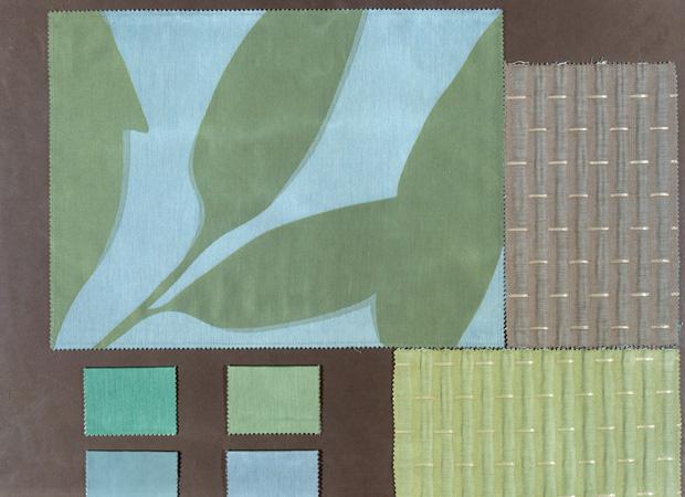 BROCHIER - Interior Design Fabrics - Design Inspiration 504 Cielo