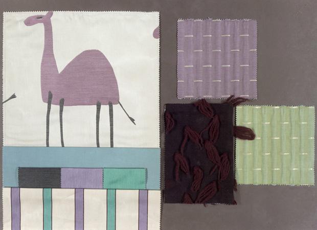 BROCHIER - Interior Design Fabrics - Design Inspiration 505 Viola