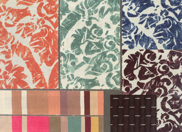 BROCHIER - Interior Design Fabrics - Design Inspiration 519 Multicolor