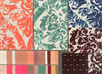 BROCHIER - Home decor textiles - Design Inspiration 519 Multicolor