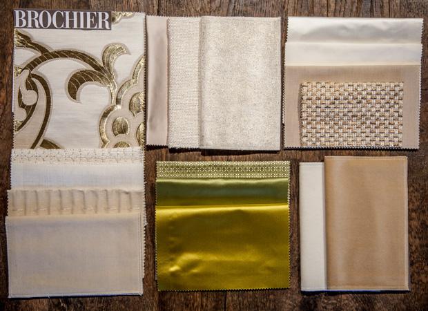 BROCHIER - Interior Design Fabrics - Design Inspiration 520 Oro Avorio