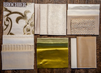 BROCHIER - Home decor textiles - Design Inspiration 520 Oro Avorio