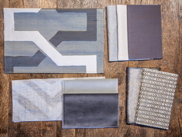 BROCHIER - Interior Design Fabrics - Design Inspiration 522 Grey