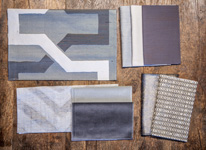 BROCHIER - Home decor textiles - Design Inspiration 522 Grey