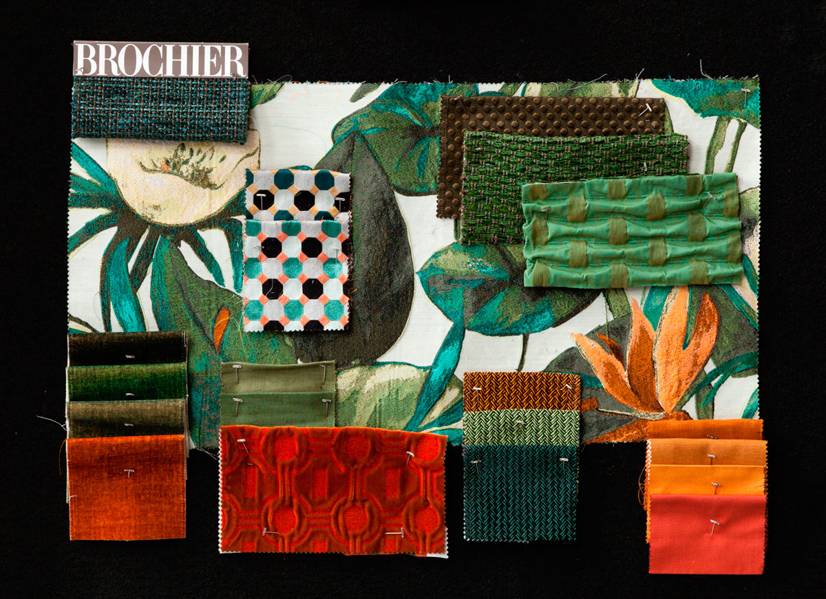 BROCHIER - Interior Design Fabrics - Design Inspiration 524 Palude