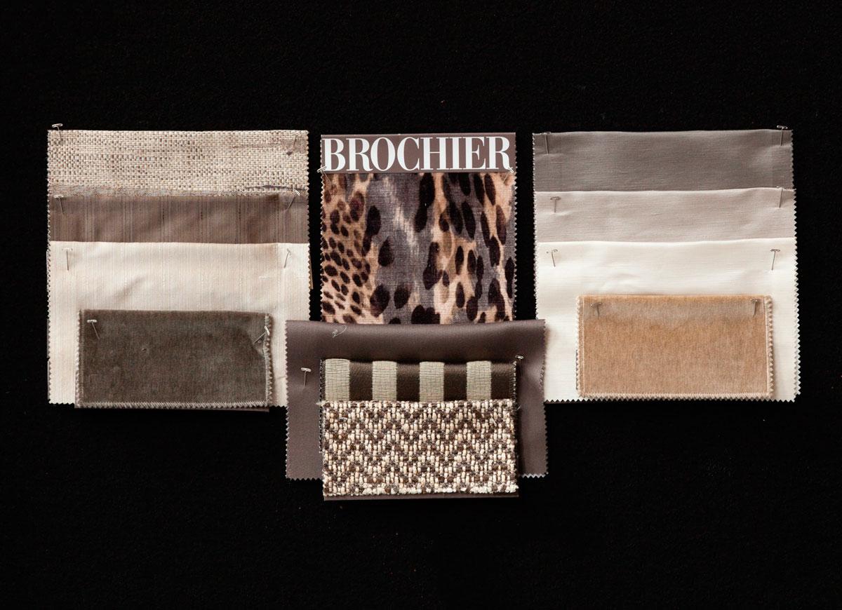 BROCHIER - Interior Design Fabrics - Design Inspiration 525 Greige