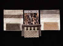 BROCHIER - Home decor textiles - Design Inspiration 525 Greige